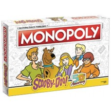 MONOPOLY SCOOBY DOO BOARD GAME (C: 0-1-2) @F