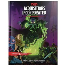 D&D RPG ACQUISITIONS INCORPORATED HC @F