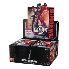 TRANSFORMERS TCG SEIGE BOOSTER DIS (30CT) (C: 0-1-2) @F