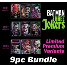 BATMAN THREE JOKERS #1 #2 #3 PREMIUM VAR A B C 9PC BUNDLE