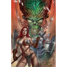MARS ATTACKS RED SONJA #1 PARRILLO LTD VIRGIN VAR