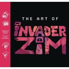 ART OF INVADER ZIM HC (Offered Again)