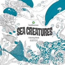 SEA CREATURES SMITHSONIAN COLORING BOOK (C: 0-1-0)