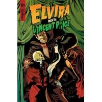ELVIRA MEETS VINCENT PRICE #1 CVR A ACOSTA