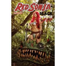 RED SONJA BLACK WHITE RED #2 CVR D COSPLAY