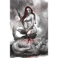 RED SONJA BLACK WHITE RED #2 CVR K PARRILLO LTD VIRGIN (C: 0