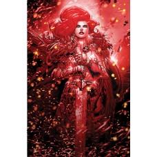 RED SONJA BLACK WHITE RED #2 CVR L MEYERS LTD VIRGIN (C: 0-1
