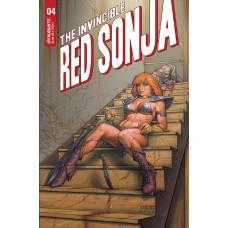 INVINCIBLE RED SONJA #4 CVR B LINSNER