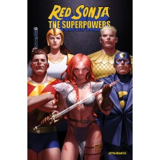 RED SONJA THE SUPERPOWERS TP