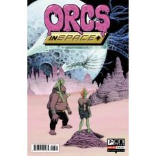 ORCS IN SPACE #3 CVR B WARD & SHEEAN