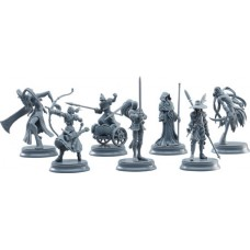 FATE STAY NIGHT SERVANT CLASS CARD 8PC TRADING FIG ASST (C: