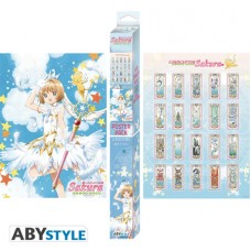 CARD CAPTOR SAKURA CLEAR CARD CHIBI BOXED 2PC POSTER SET (C: