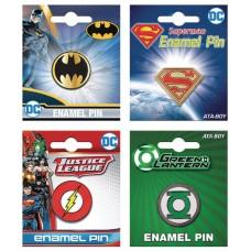 DC COMICS 24PC ENAMEL PIN ASST (C: 1-1-2)