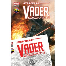 VADER DOWN #1 COLOR w FREE B/W VARIANT