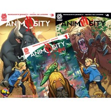 ANIMOSITY #3 and #4 M&M w FREE ANIMOSITY RISE #1 VARIANT