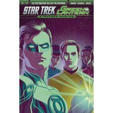 STAR TREK GREEN LANTERN VOL 2 #6 (OF 6) SUBSCRIPTION VARIANT