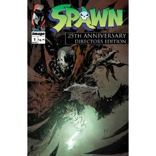 SPAWN #1 25TH ANNIVERSARY DIRECTORS CUT CVR A WOOD