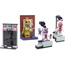 FIVE NIGHTS AT FREDDYS MICRO CONST SET ASST (Net)
