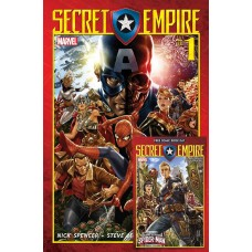 SECRET EMPIRE #1 (OF 9) + FCBD S/E SPIDER-MAN