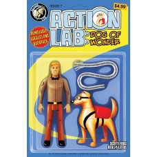 ACTION LAB DOG OF WONDER #7 CVR B GOLDING