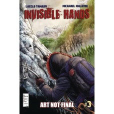 INVISIBLE HANDS #3 (OF 3)