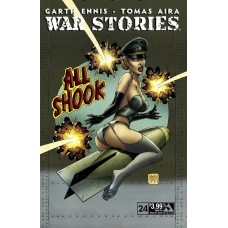 WAR STORIES #24 GOOD GIRL NOSE ART CVR (MR)