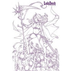 LADY DEATH EXTINCTION EXPRESS #1 RAW ED S&N (MR)