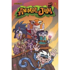 ANIMAL JAM #1 CVR B FLEECS