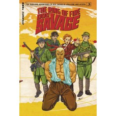DOC SAVAGE RING OF FIRE #3 (OF 4) CVR A SCHOONOVER