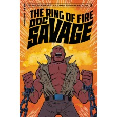 DOC SAVAGE RING OF FIRE #3 (OF 4) CVR B MARQUES