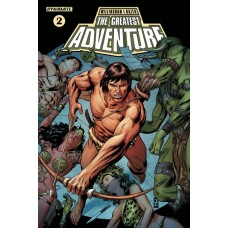 GREATEST ADVENTURE #2 CVR B ZIRCHER