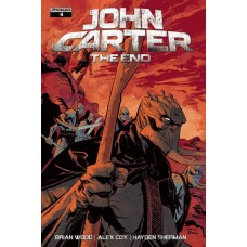 JOHN CARTER THE END #4 CVR A BROWN