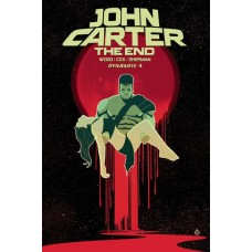 JOHN CARTER THE END #4 CVR B DOE