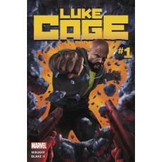 DF LUKE CAGE #1 WALKER SGN