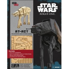 INCREDIBUILDS ROGUE ONE AT ACT DLX MODEL W BOOK