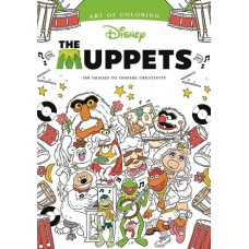 ART OF COLORING MUPPETS SC