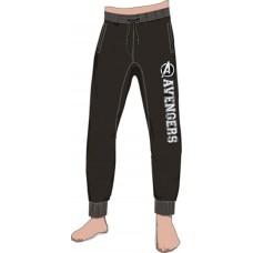 MARVEL AVENGERS BLACK JOGGER PANT SM (Net)