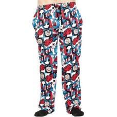 MARVEL CAPTAIN AMERICA ALL OVER PRINT SLEEP PANT LG (Net)