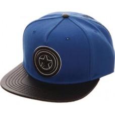MARVEL CAPTAIN AMERICA CARBON FIBER SNAPBACK HAT (Net)