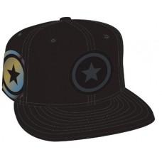 CAPTAIN AMERICA SHIELD SIDE FLECT SNAP BACK CAP