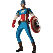 GRAND HERITAGE CAPTAIN AMERICA ADULT COSTUME STD (Net)