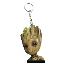 GUARDIANS OF THE GALAXY VOL2 GROOT HEAD KEYCHAIN