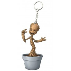 GUARDIANS OF THE GALAXY VOL2 GROOT IN POT KEYCHAIN