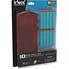 K-FORCE BUILD & BLAST 10 DART W/ CLIP BLISTER PACK (Net)