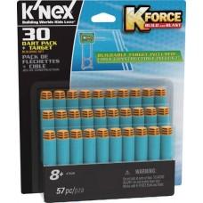 K-FORCE BUILD & BLAST 30 DART W/ TARGET BLISTER PACK (Net)