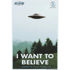 I WANT TO BELIEVE UFO MODEL KIT