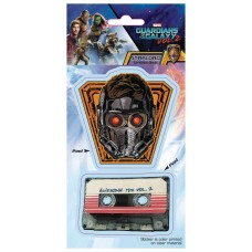 GUARDIANS OF THE GALAXY VOL2 STAR-LORD W/ TAPE DECAL