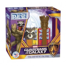 PEZ GOTG GROOT AND ROCKET RACOON 2PK 12PC BLISTER DIS (Net)