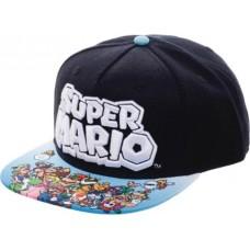 NINTENDO SUPER MARIO YOUTH SNAPBACK HAT