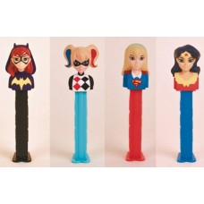 PEZ DC SUPER HERO GIRLS 12PC BLISTER DIS